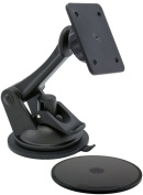 ARKON GN079WD-SBH-AMPS 4 Hole AMPS Pattern Replacement Upgrade or Additional Windshield Dashboard Sticky Suction Mount for Sirius Satellite Radios