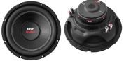 2) Pyle PLPW10D 25cm 2000W Car Subwoofer Audio Power Subs Woofers DVC 4 Ohm Black