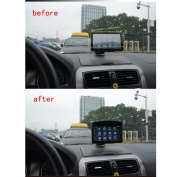 AGPtek Sun Shade Shield Glare Visor for Universal 18cm Inch GPS Navigation