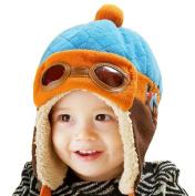 Demarkt Baby Girls/Boys Winter Warm Hat Infant Beanie Cap Fleece Colour Split Earflap