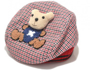 Demarkt Cute Panda Beret Cap Babys Girls Boys Plaid Cap Hat