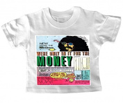 Frank Zappa We are on it for the money Baby T shirt 24-36 months
