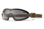 Smith Optics Elite Boogie Sport Goggles, Grey, Tan 499 Strap
