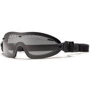 Smith Optics Elite Boogie Sport Asian Fit Goggles, Grey, Black Strap
