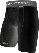 Shock Doctor Performance Compression Short with Cup Pocket, Men's & Boy's sizes