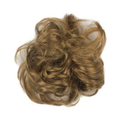 Light Brown Fake Synthetic Hair Scrunchies