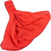 Headwrap Headband Elasticated Head Wrap Cotton In Many Colours Stretchy 3 In 1 Red