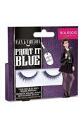 Bourjois Paint it Blue- Dramatic Volume False Lashes Faux & Fabulous