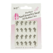 Perfect Nail Jewlery Seal 3d Rubber Art
