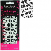 Beauty UK nail wraps no.10 - Have a Cow