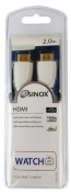Sinox SXV1902 HDMI HSWE Cable 2 m White