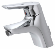 Ideal Standard CeraMix Blue A5655AA Bidet Mixer Tap Chrome with Drainage Fittings