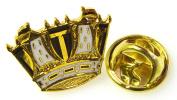 Royal Navy Lapel Pin Badge (Coronet)