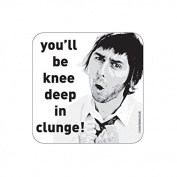 """""""CLUNGE"""" INBETWEENERS Coaster - TV / Television Themed Design"""