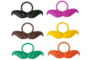 BeerMo Bottle Moustaches Coloured