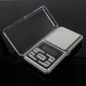 Andux Zone 200g x 0.01g/300g x 0.01g Mini Digital Jewellery Pocket Gramme Scale LCD, Silver 3C/DZC-01