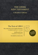 UBS5 Greek New Testament, Reader's Edition  [GRC]
