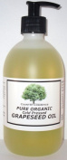 Pure Organic Cold Pressed Grapeseed Oil 500ml with Pump Dispenser