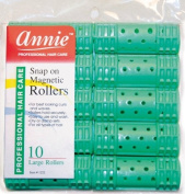*NEW*Hair Rollers PROFESSIONAL SNAP ON MAGNETIC (LARGE) All Sizes - Set Hair Dry or damp