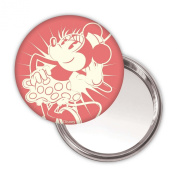 Minnie Mouse Button Mirror