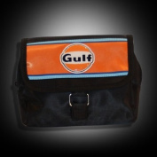 Continental Racing Gulf Collection Cosmetic Bag - Orange Stripe