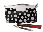 Black White Spotty Wash / Cosmetic Bag