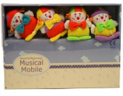 Beautiful Beginnings Clown Musical Mobile