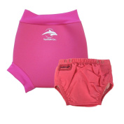 Konfidence Swim Nappy and Neo AquaNappy Pink Small - 3 to 6 Months