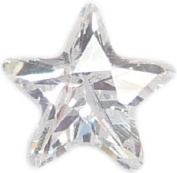 Clear crystal star - 5mm floating charm will fit Living memory lockets and Origami Owl style lockets