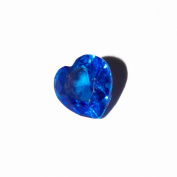 September birthstone heart - 5mm floating charm will fit Living memory lockets and Origami Owl style lockets