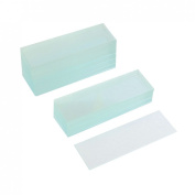 50 Pcs Pre-cleaned Microscope Blank Glass Slides 2.5cm x 7.6cm