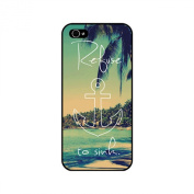 K9Q Vintage Art Painted Pattern Quote Hard Case Back Cover Skin Protector For iPhone 5C Shipped With Tracking Number & A Free Gift