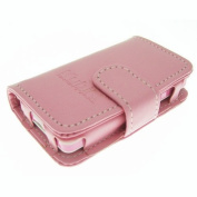 Genuine Leather Case for Kubik Evo MP3 & Video Player - Evo Pink