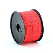 1KG Spool of Red premium quality PLA 3D Printer filament suitable for most 3D printers