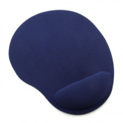 Wrist Comfort Mouse Pad / Mouse Mat Provides Therapeutic Wrist Rest Comfort. Computer Mouse Wrist Support Pad Made Of Foam-Rubber.