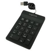 LogiLink Numeric Silicone USB Keypad