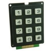 Spiratronics Matrixed 3x4 Keypad