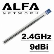 Alfa 9dBi WiFi Booster SMA OMNI-Directional High-Gain Screw-On Swivel Antenna for Alfa - WUS036H, WUS050NH and WUS036EH