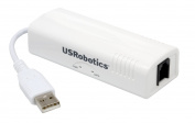 Us Robotics 56k External USB Controller Data/Fax Modem