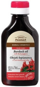 Natural Burdock Root Oil with Red Peppers For Hair & Scalp 100ml