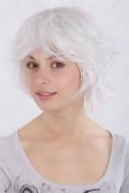 Lady Fashion Quality BOB Wig Short STORM LOOK white whitish LAYERED 1240-1001 Peluca Cosplay