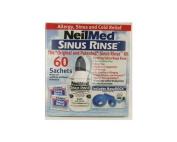 Neilmed Sinus Rinse Kit + 60 Sachets