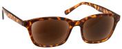 UV Reader Large Brown Tortoiseshell Sun Readers Reading Glasses +1.50 Strength Designer Style Mens Womens UV400 Inc Case UVSR019