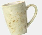 Steelite Craft Quench Mug Green 10oz / 280ml | Coffee Cup, Tea Cup, Cappuccino Cup, Steelite Cup