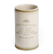 PARIS LE BAIN TUMBLER/TOOTHBRUSH HOLDER - French Chic Bathroom Accessories