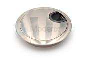 60MM METAL DESK CABLE TIDY OUTLET GROMMET INSERT