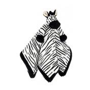 Teddykompaniet - Diinglisar - Zebra Comfort Blanket