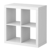 IKEA Kallax - Shelving unit, white - 77x77 cm