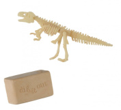 Childs Education and Craft Toy - Excavation kit Dig a Dinosaur Skeleton - Childs/Children Perfect Ideal Christmas Stocking Filler Gift Present