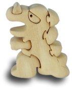T Rex - Handcrafted Wooden Puzzle